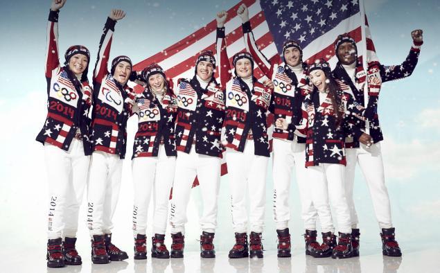 Ralph Lauren Debuts Uniform Design for American Winter Olympic Team