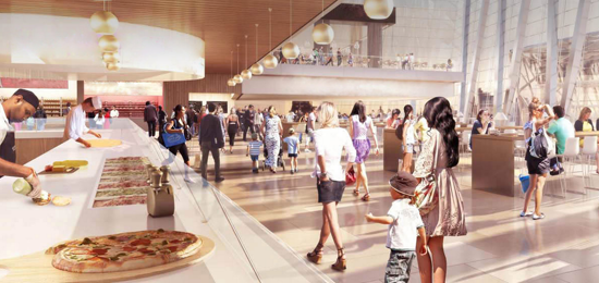 Hudson Yards To Feature International Food Court