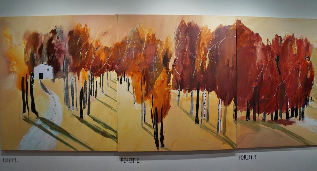 Catalan artist regina saura hosting exhbition at soho 39 s for Artiste peintre catalan