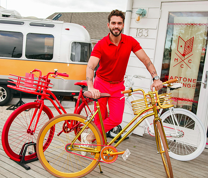 The Paramount Hotel Hosts New Martone Cycling Co. Pop-up Store