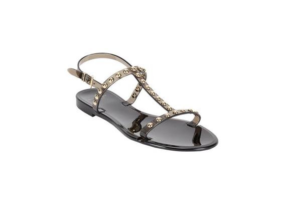 GIVENCHY Studded Rubber Flat Sandal $ 350