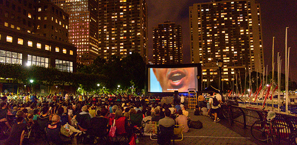 Summertime Outdoor Film Screenings in Lower Manhattan