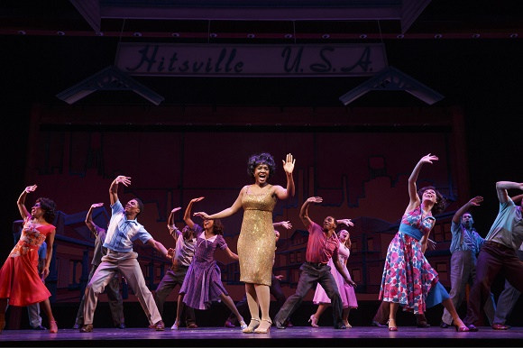 A Show of Icons in Motown the Musical
