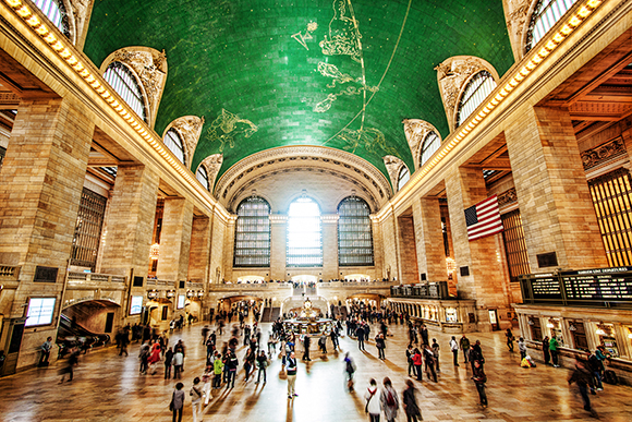 Life's A Picnic in Grand Central Station