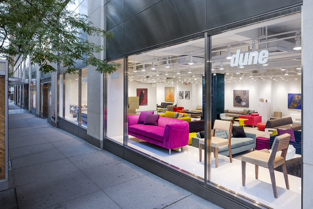 Dune showroom opens at 200 lexington avenue downtown for 200 lexington ave new york