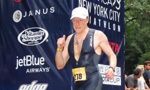Elie Hirschfeld Scores Stunning Victory in Historic NYAC Indoor Triathlon