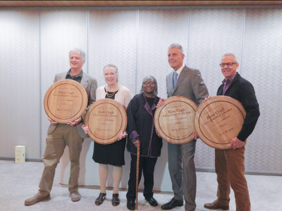 Anthony Bourdain, The Balvenie Celebrate Fellows at American Craft Council Rare Craft Fellowship Awards