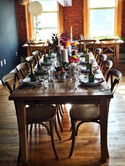 Pinch Parties Event at The Kitchen Table Was a Party Planner's Wonderland
