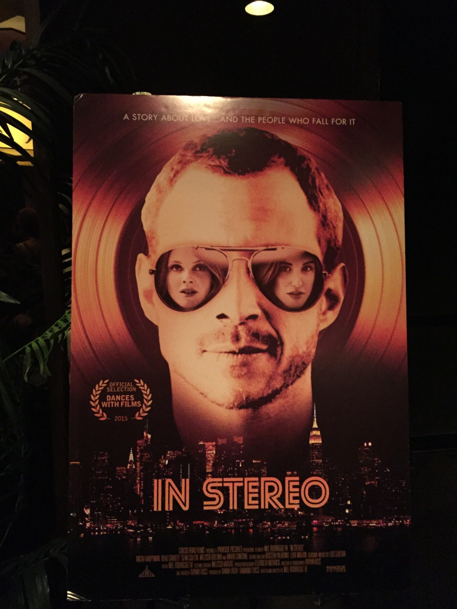 in stereo movie premiere at the tribeca grand hotel