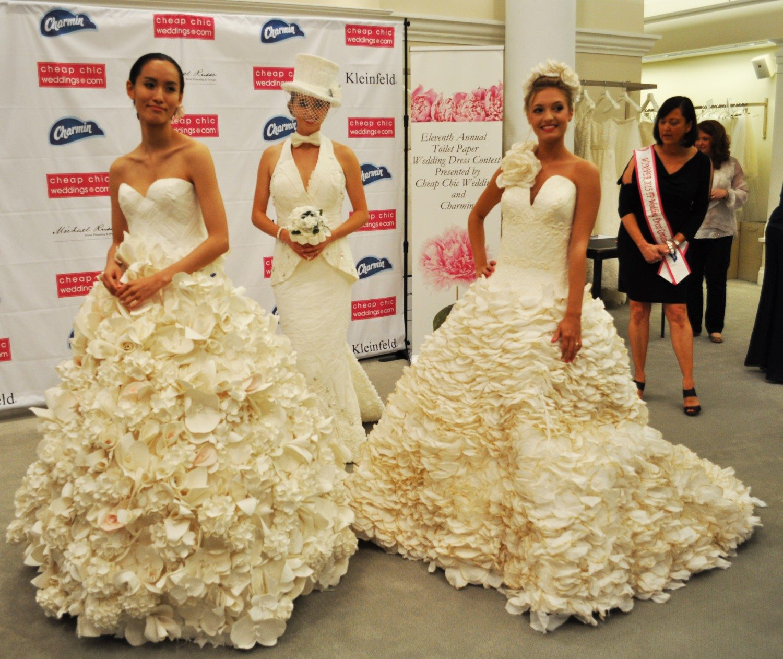 Cheap Chic Wedding Dress Winner Announced At Kleinfeld