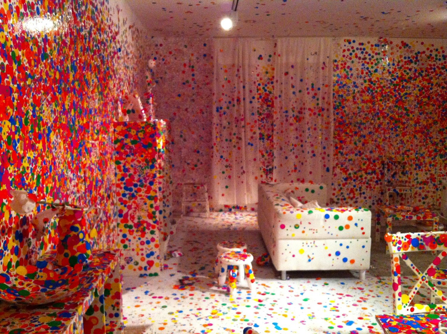 The Obliteration Room Exhibit Downtown Magazine