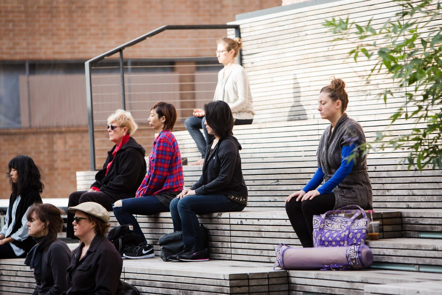 Start Your Wednesday's With Meditation at The High Line