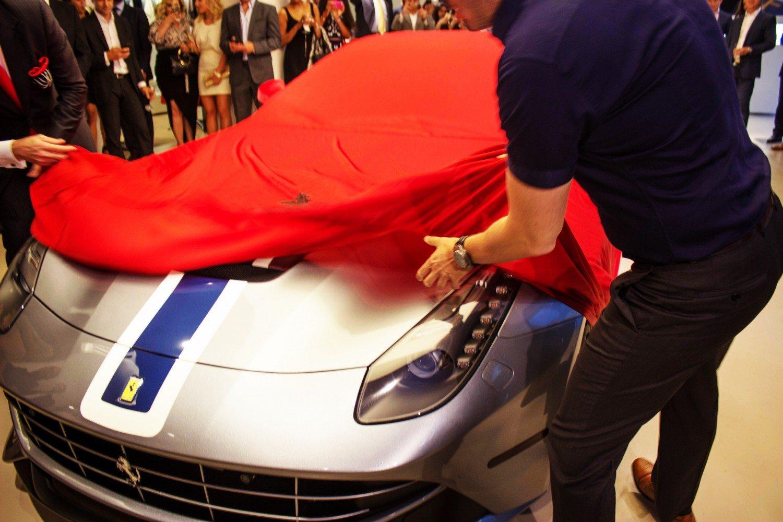 NYC Ferrari Event