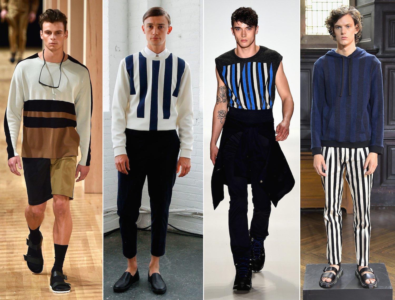 Men's Fashion Week Comes Downtown