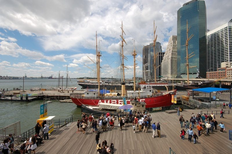 New Seaport Culture District Brings Life to the Historic Area