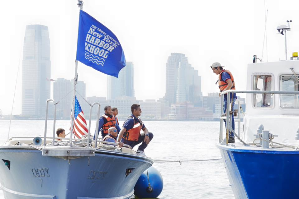 New York Harbor School Prepares Students for Careers on the Water
