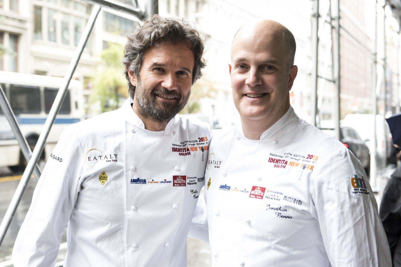 Chefs Carlo Cracco and Jonathan Benno Present Italian Master Class as Part of Identita New York