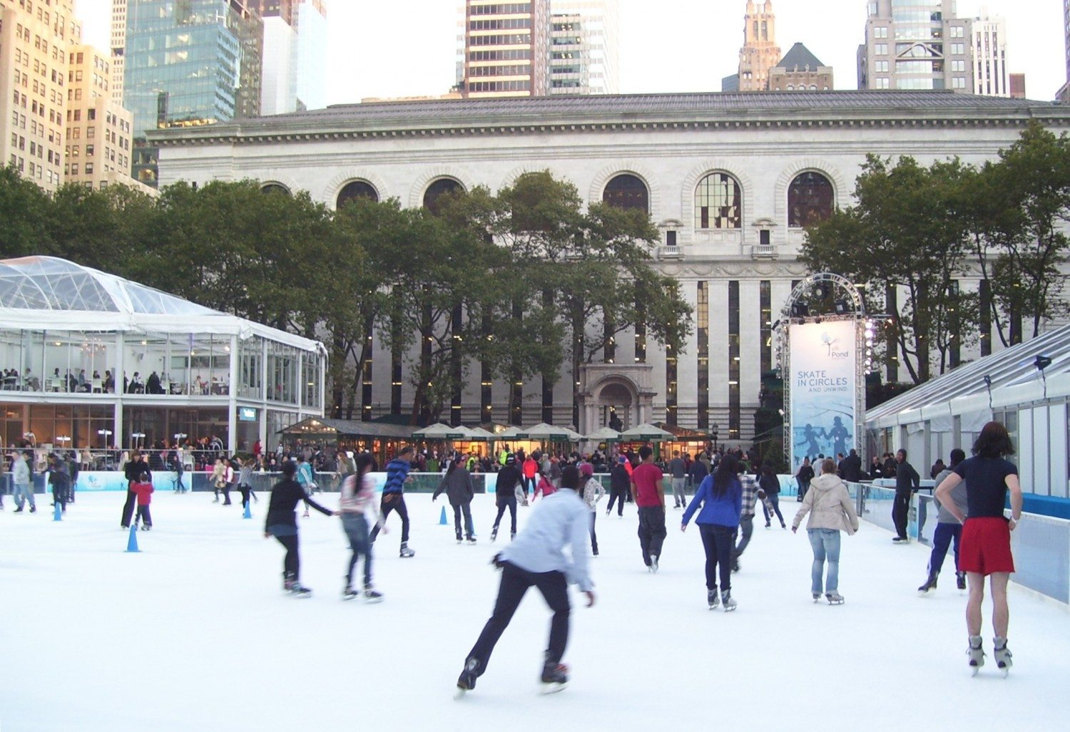 Winter Village at Bryant Park