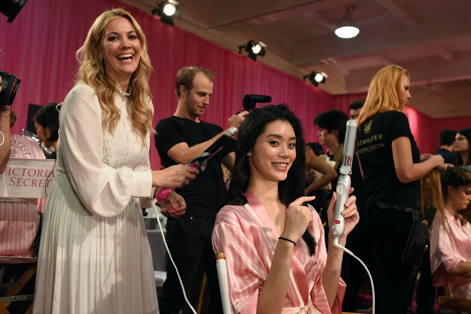 Sarah Potempa Talks Beachwaver And Its Success At Victoria's Secret Fashion Show