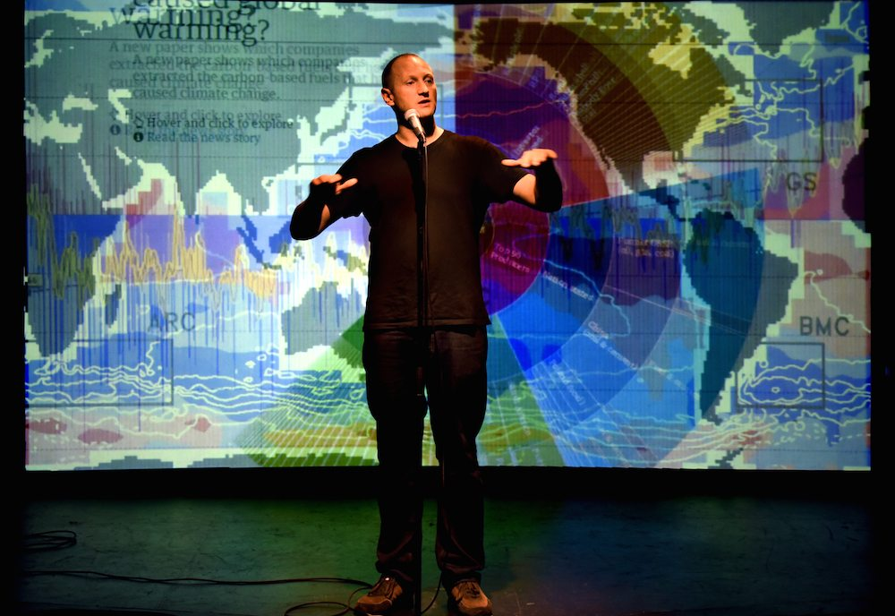 Baba Brinkman Continues His SoHo Playhouse Residency, Talks Climate Change and What's Ahead