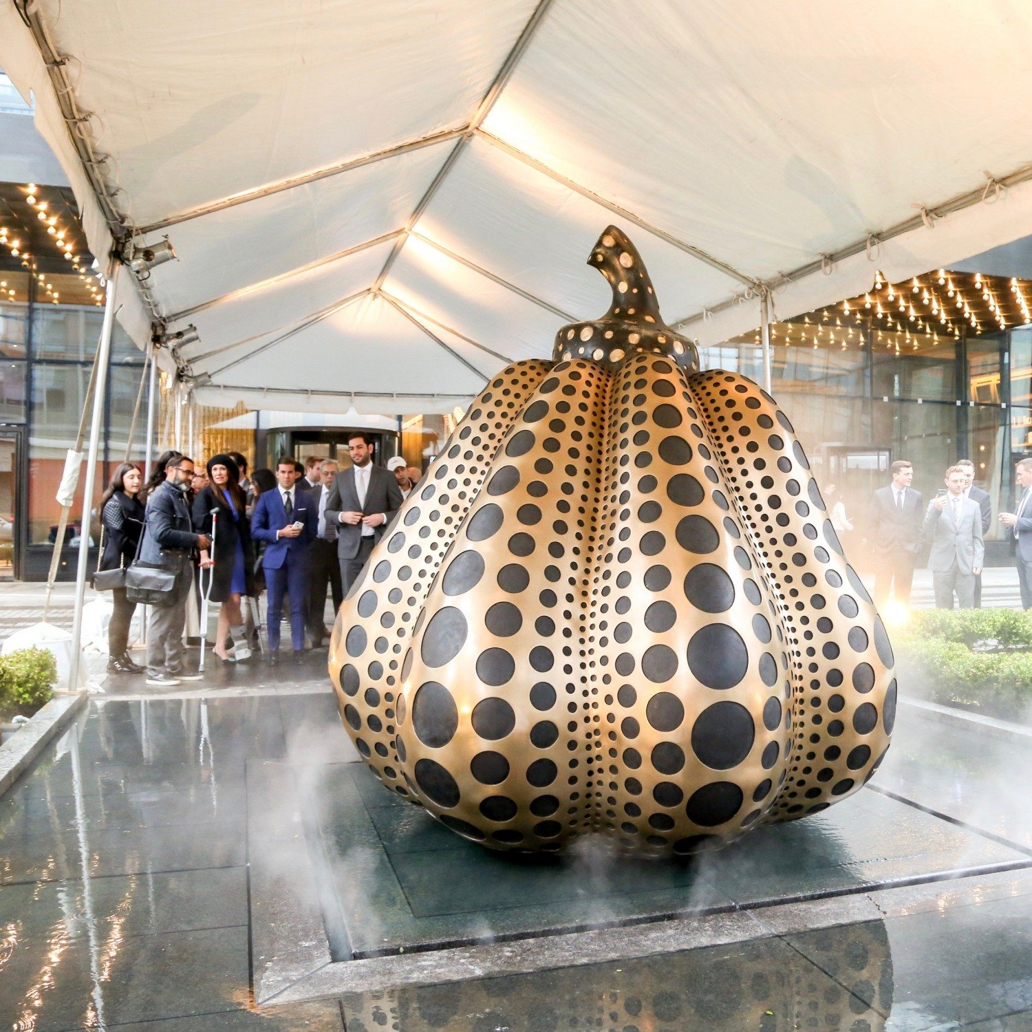 Yayoi Kusama's Artwork On Permanent Display at Sky