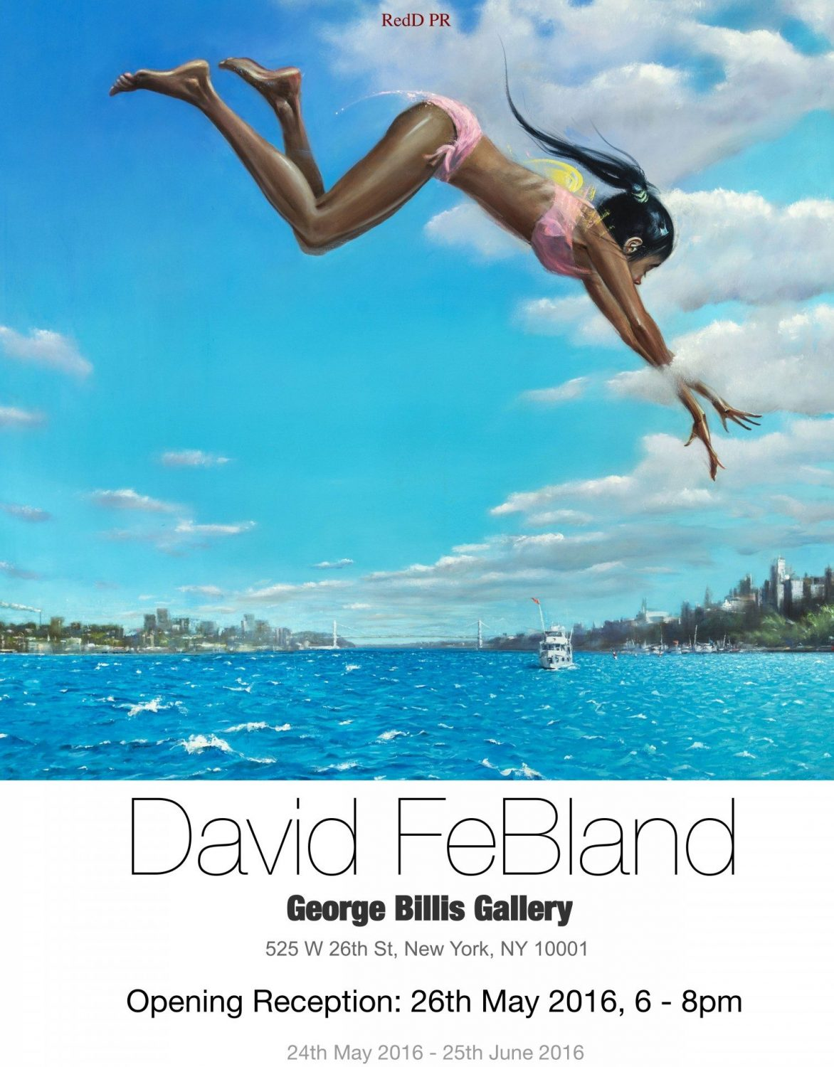 Artist David FeBland To Be Featured At The George Billis Gallery Through Jun. 25