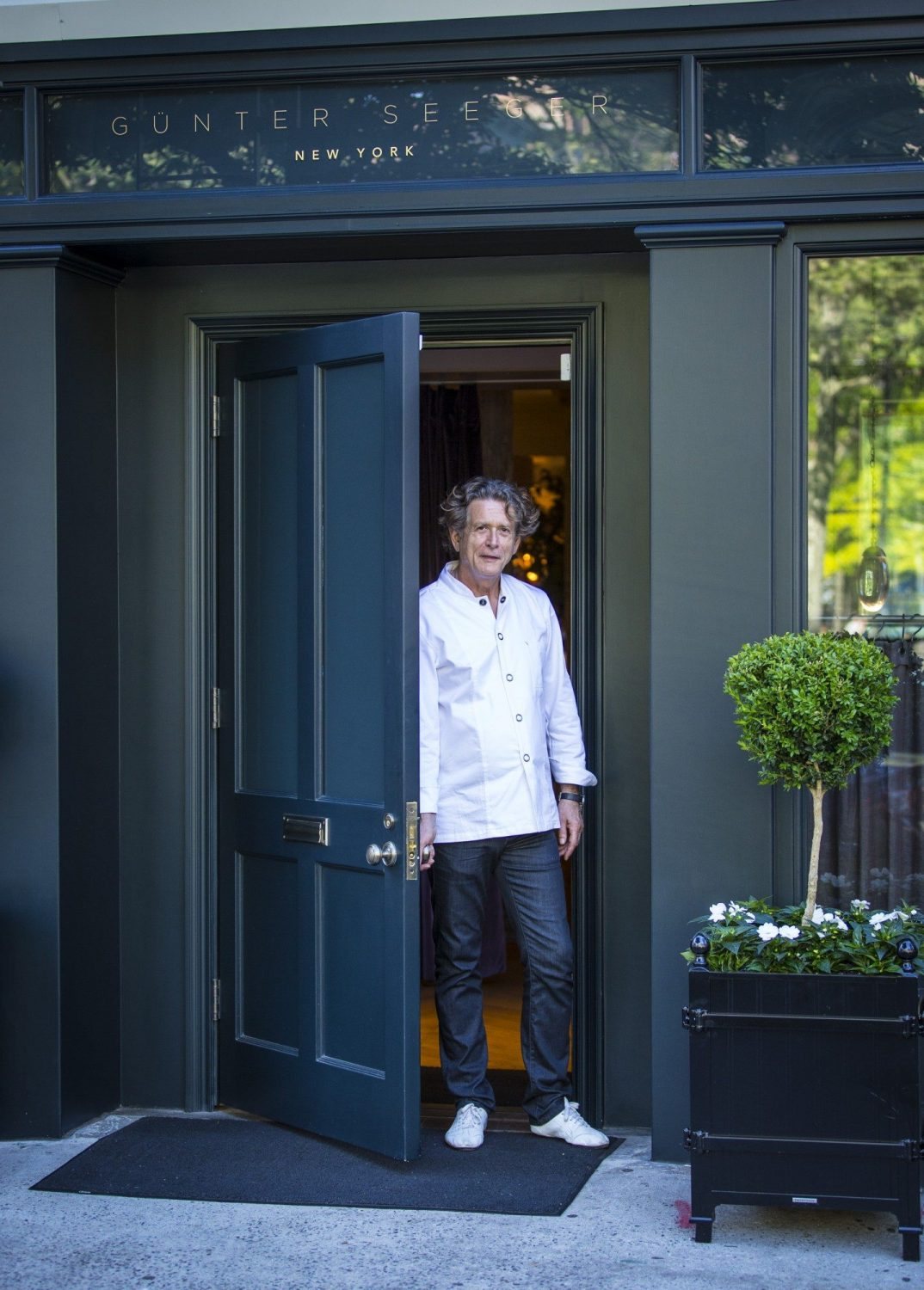 Chef Günter Seeger on the new Günter Seeger NY, why the restaurant looks like a home, and more