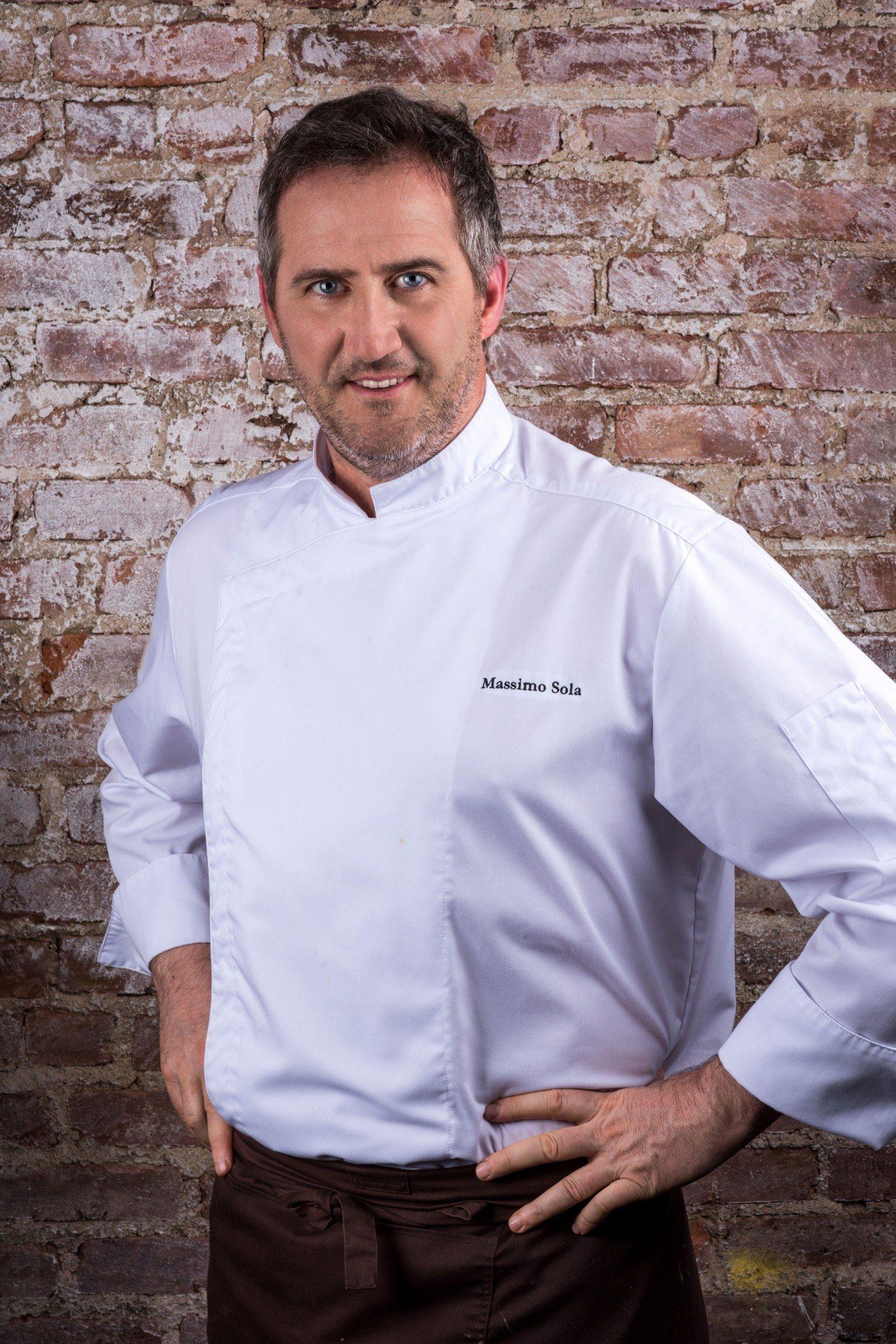 Chef Massimo Sola - photo by Enrique Shore