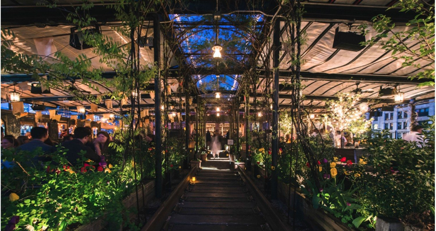 David Burke Kitchen Garden 5 Rooftop Bars To Check Out In Lower Manhattan Downtown Magazine Nyc