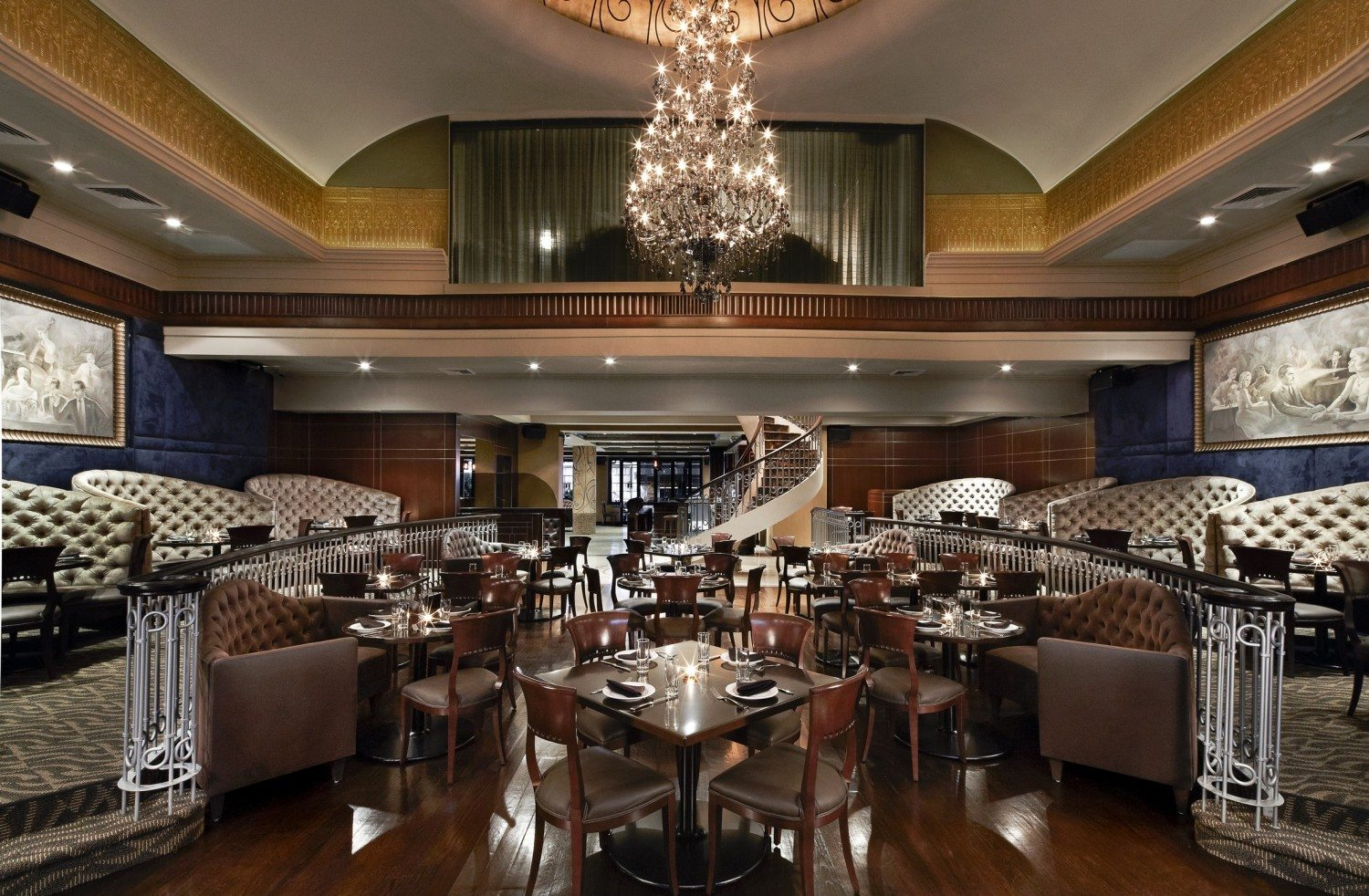Empire Steak House Old New York Elegance With Top Shelf