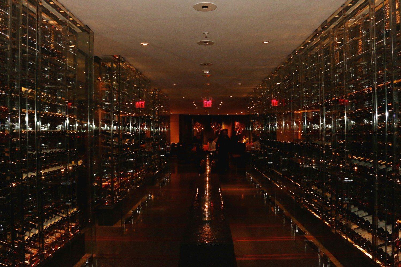 Reserve Cut's wine cellar