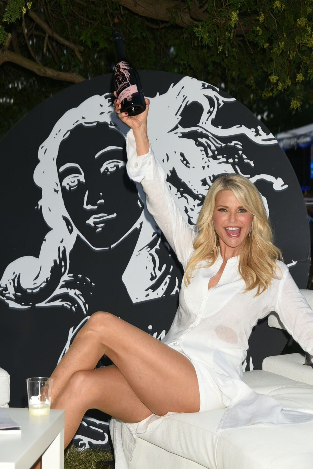 Christie Brinkley & Sailor Brinkley Cook talk to Downtown in the Hamptons