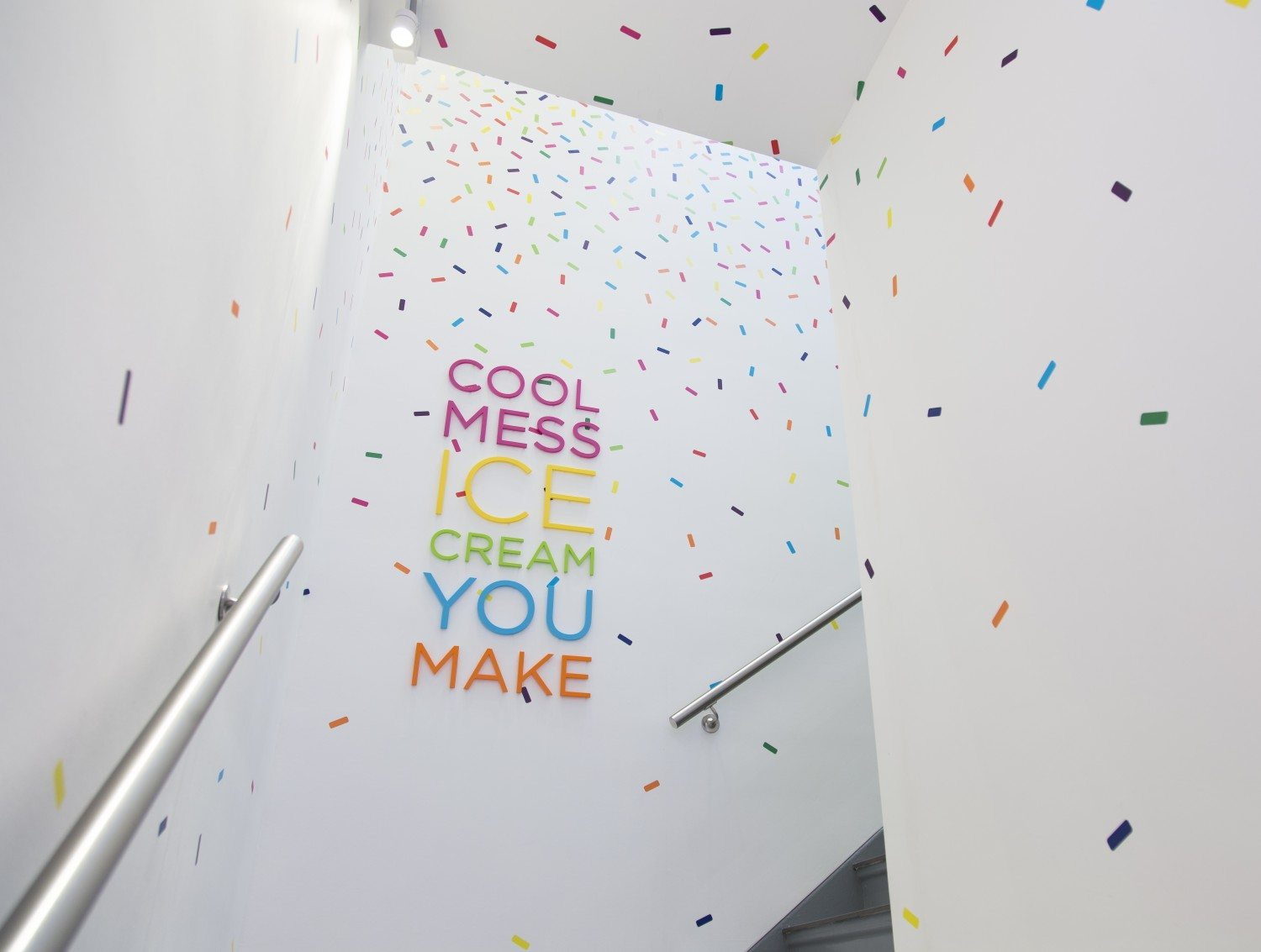 "Forget The Museum Of Ice Cream — You Can Walk Right Into ""Cool Mess"""