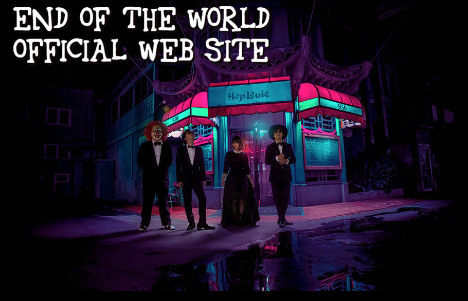 One of Japan's biggest pop acts, End Of The World (a.k.a. Sekai No Owari), with new tour dates