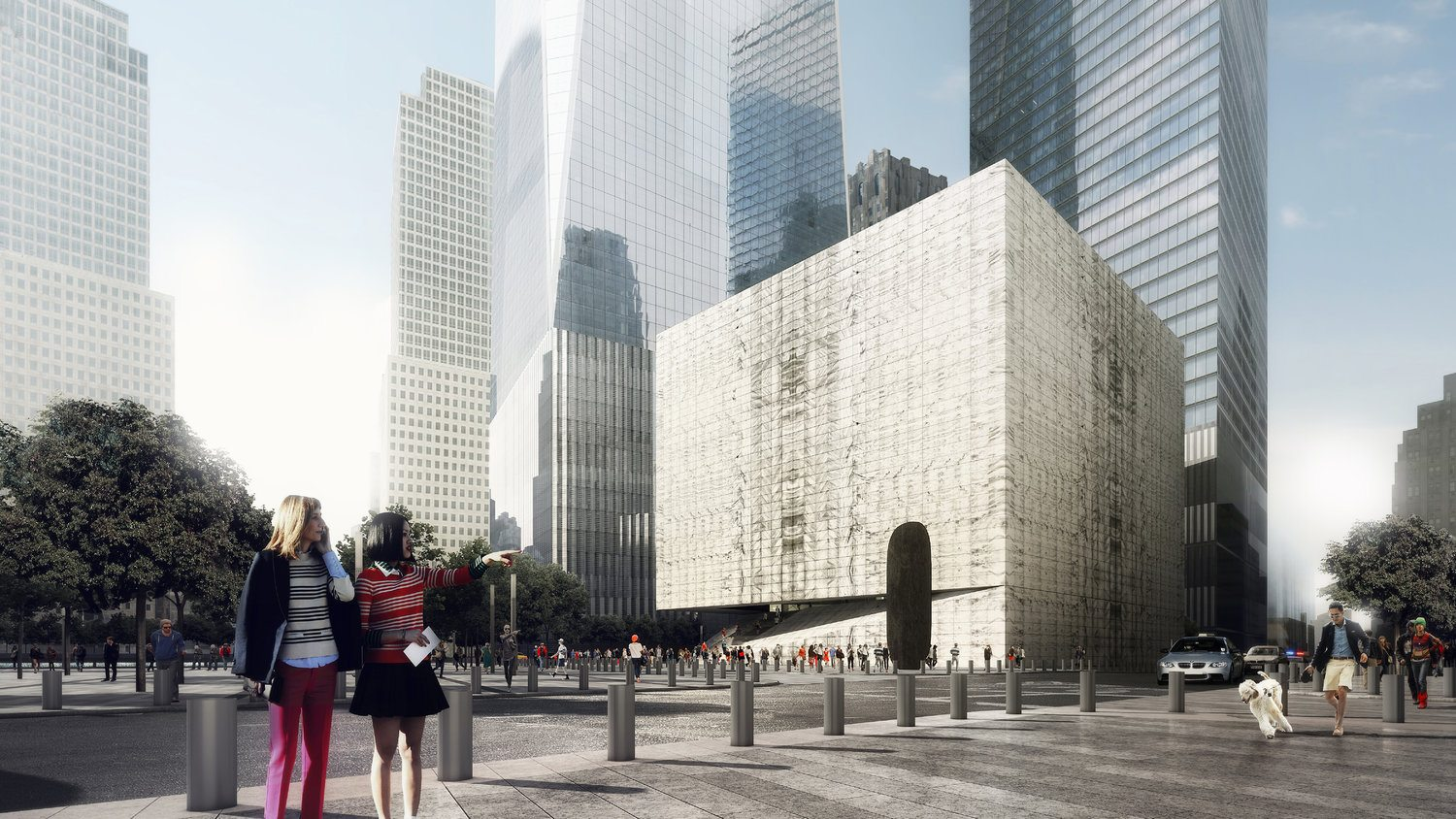 Design For The Ronald O. Perelman Performing Arts Center Unveiled; Barbra Streisand Elected Chairperson