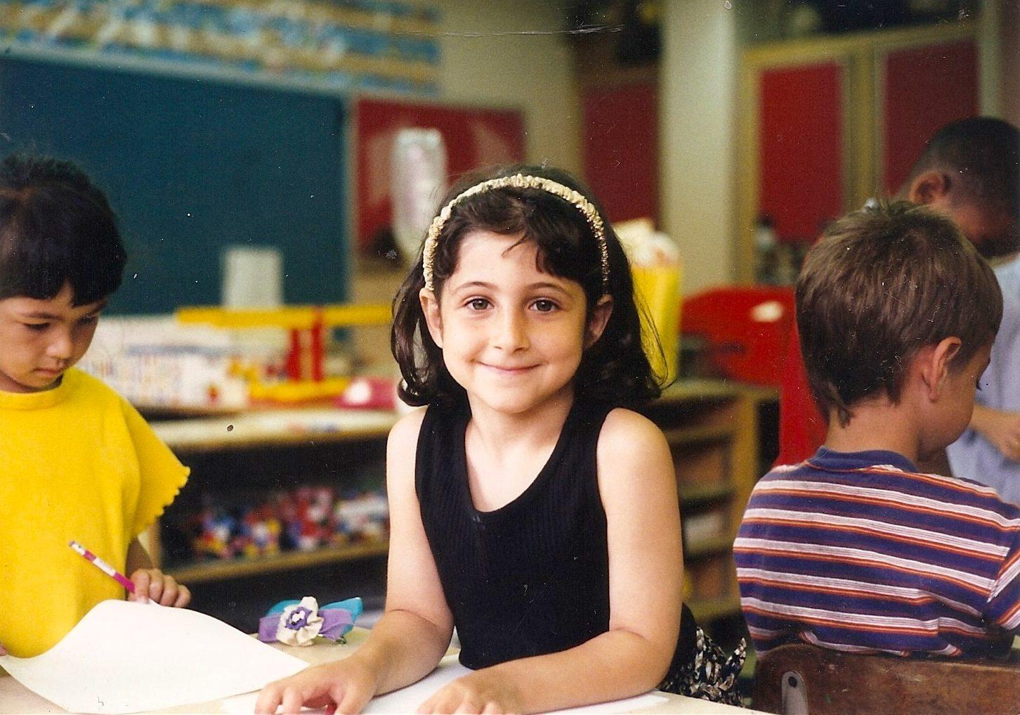 A Young Helaina Hovitz