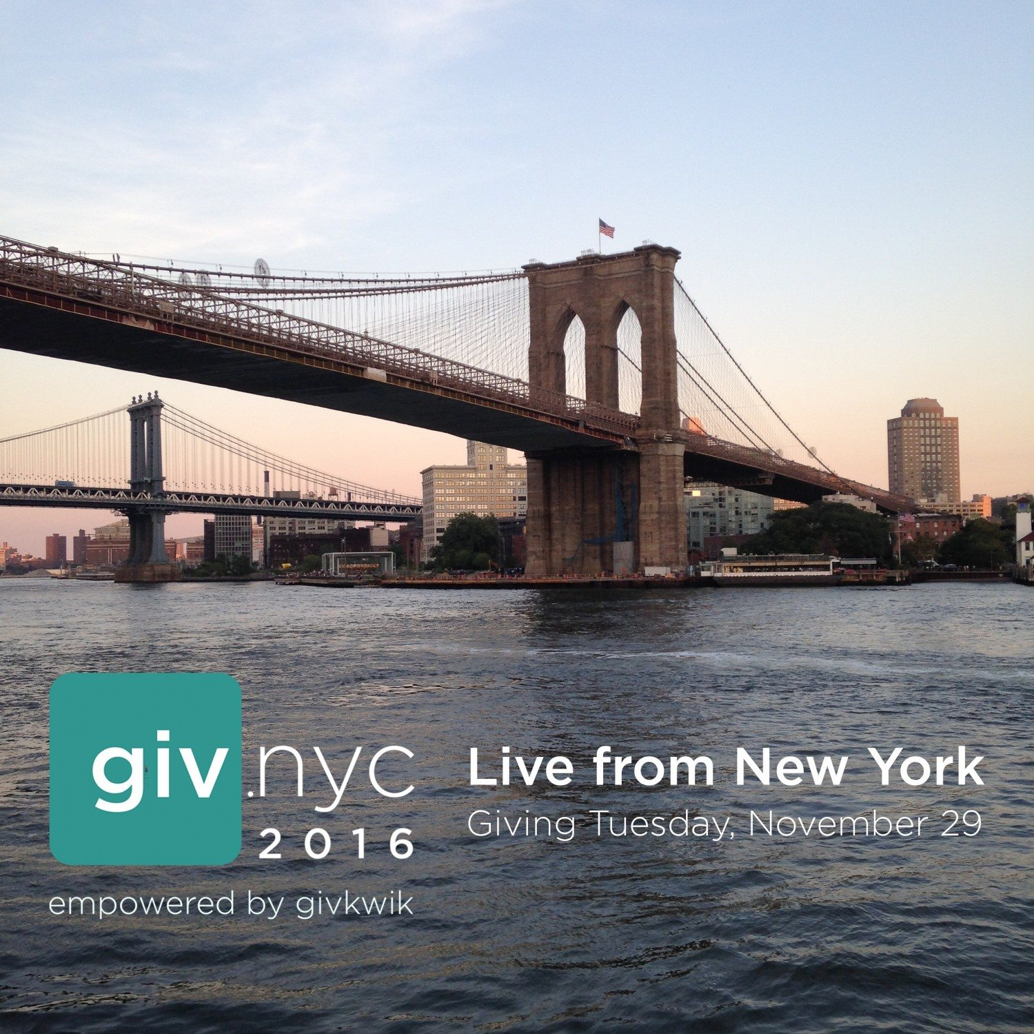 Givkwik to host its annual #GivingTuesday event, GIV.NYC 2016, on Nov. 29