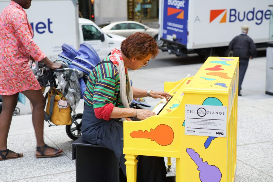 Sing for Hope Pianos In NYC This Summer