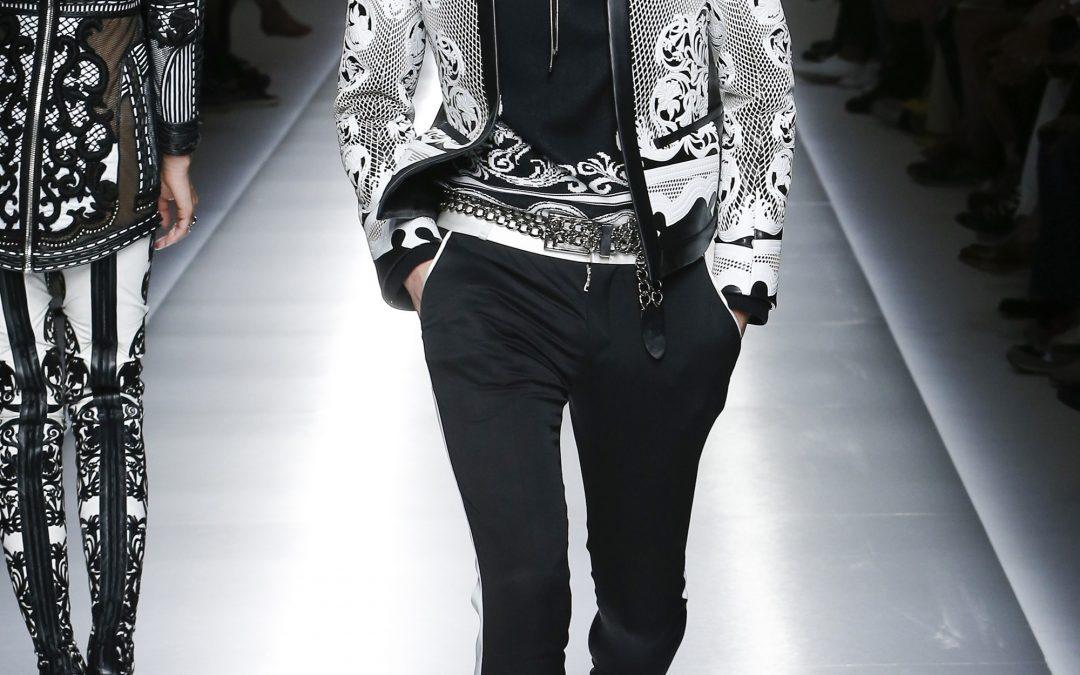 Spring 2018 Menswear Inspiration: Balmain
