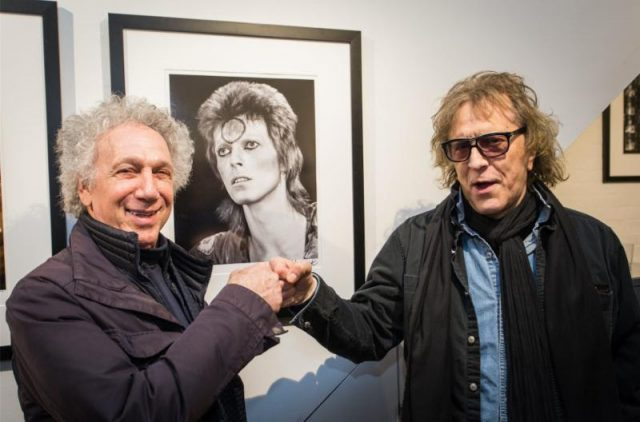 Photographers Mick Rock & Bob Gruen