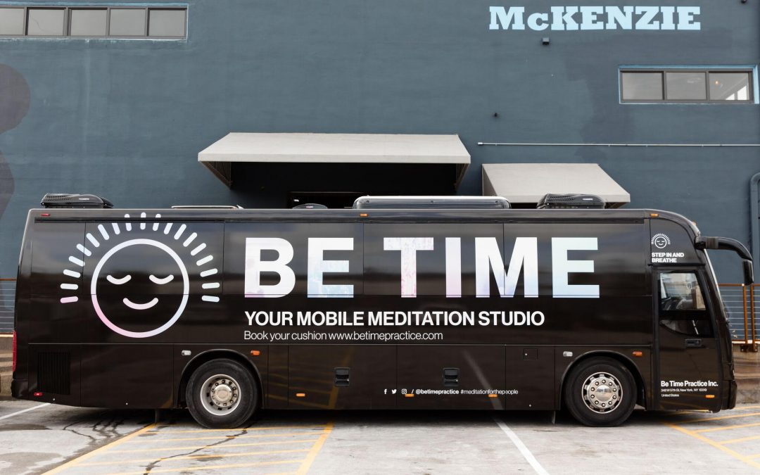 Be Time, Me Time! Mobile Meditation Studio in NYC