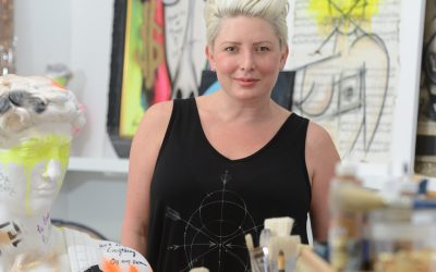 Breaking In with NYC's Breakout Artist Michelle Fazaeli