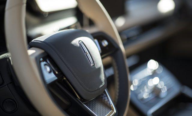Lincoln Aviator Steering Wheel