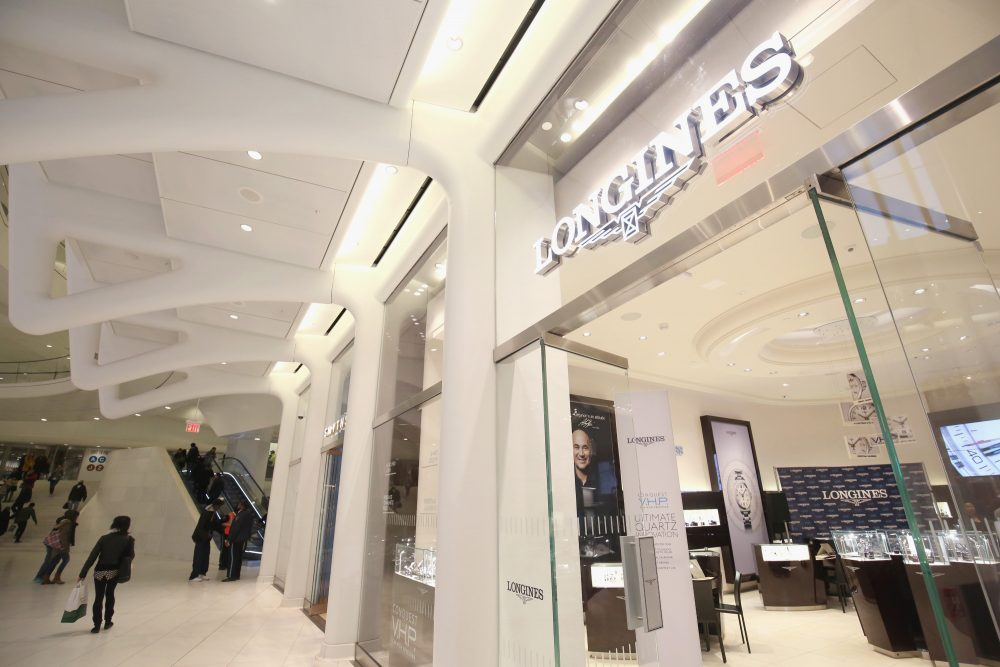 Longines Luxury Watch Boutique Storefront