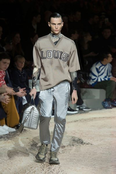 Luis Vuitton Men's Runway with Ugly Sneakers