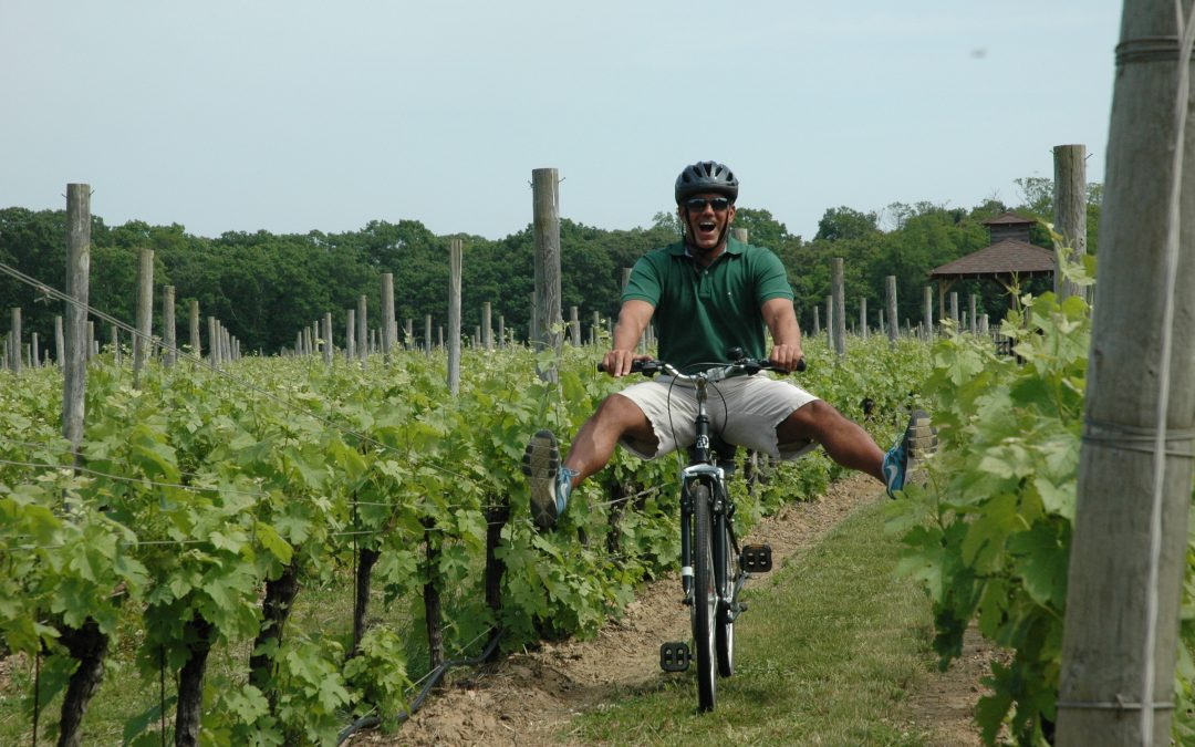 Bike Through Long Island's North Fork and Wine Country