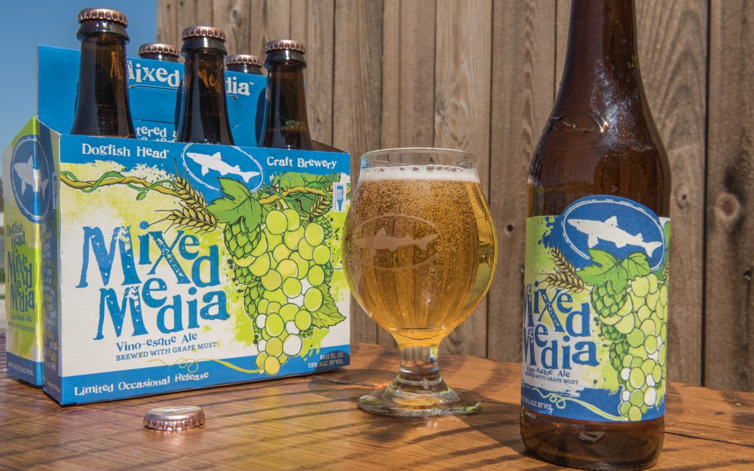 "Dogfish Head's ""Mixed Media"" Blurs the Lines Between Beer and Wine"