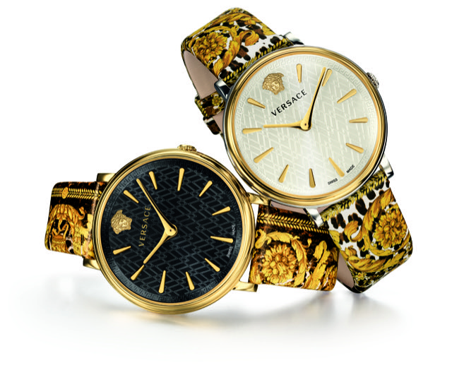 Versace V-Circle Tribute Edition Watch Both colors