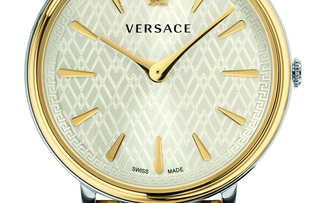 Versace Go Bold with Their New V-Circle Tribute Edition Watch Collection