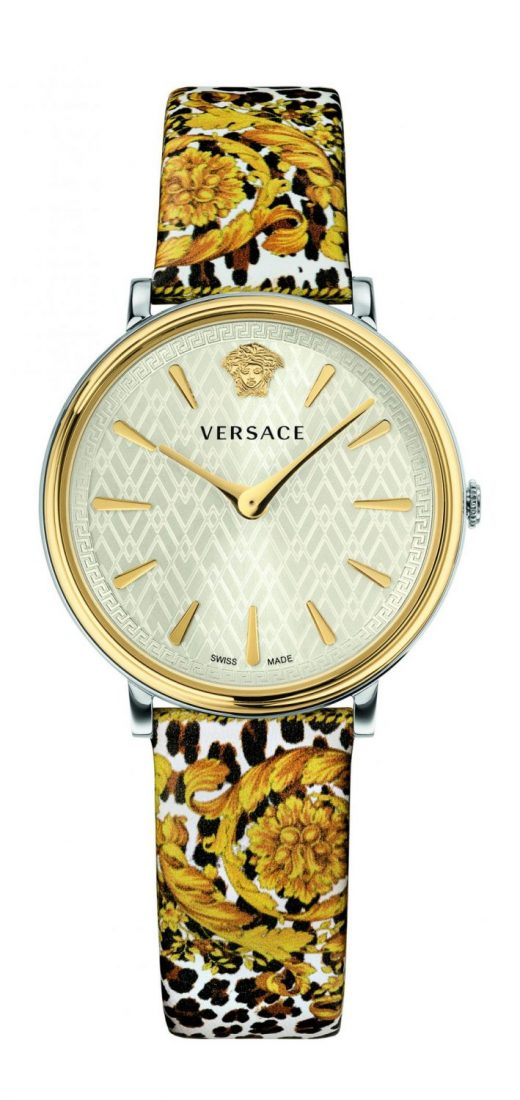Versace V-Circle Tribute Edition Watch White